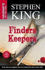 Cover (borealnz) Tags: cover bookcover scissors book stephenking finderskeepers