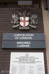 29/04/17 (Dave.Kirwin) Tags: london minories carpark corporationoflondon dragon shield heraldic