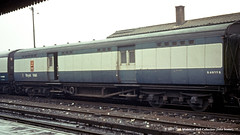 c.1969 - Clapham Junction, London. (53A Models) Tags: britishrail southernrailway maunsell postofficesortingvan s4922s npcs claphamjunction london train railway locomotive railroad