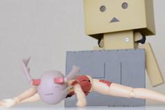 イノセンティアの前屈可動範囲 (Kamadouma3) Tags: framearmsgirl innocentia bfigure fag figure indoor jfigure model plasticmodel toy イノセンティア フィギュア フレームアームズガール プラモデル kotobukiya faガール