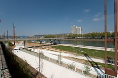 Quais bas rive gauche à Rouen (zigazou76) Tags: fleuve pont promenade quai rivegauche rouen seine