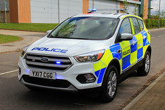 Humberside Police Brand New Ford Kuga Incident Response Vehicle (PFB-999) Tags: humberside police brand new ford kuga 4x4 incident response vehicle car unit irv panda lightbar grulles fendoffs leds yx17cgg