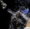 Splash (Vickyeastwood) Tags: bali indonesia nikond7000 nikon d7000 d7k darwincameraclub photographytour tour photography photographer watertemple waterceremony pura tirta temple puratirtatemple