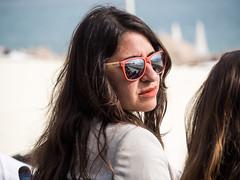Reflets (totofffff) Tags: cannes croisette french riviéra street portrait em1 zuiko 14150 ii film festival reflets lunettes glasses