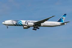 Egypt Air / B773 / SU-GDP / EGLL 27L (_Wouter Cooremans) Tags: egll lhr london heathrow spotting spotter avgeek aviation airplanespotting egypt air b773 sugdp 27l egyptair