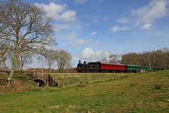 Spring in the South (Treflyn) Tags: lswr adams o2 class 044t w24 calbourne wootton isleofwight steam railway timeline events photo charter