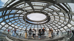At the top of the dome (neil.bulman) Tags: reichstag germany dom glass modern berlin easter
