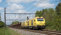BB 75090 en UM et fret (SylvainBouard) Tags: train railway sncf bb75000 sncfinfra