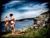 Summertime... (iEagle2) Tags: bikini red ep2 female femme frau woman barefoot barfuss barfota