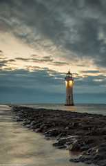 Perch Rock Lighthouse (1 of 1) (andyyoung37) Tags: merseyside newbrighton perchrocklighthouse seascape uk beach sunset thewirral wallasey england unitedkingdom