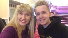 Me and Joe (Elysia in Wonderland) Tags: rapunzel joe purdy panto pantomime production elysia selfie