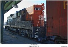SP GP9E 3769 (Robert W. Thomson) Tags: sp espee southernpacific emd diesel locomotive fouraxle geep gp9 gp9e train trains trainengine railroad railway ogden utah