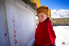 A young lama (manuj mehta) Tags: monk lama spiti valley portrait mood people india monastery canon candid desert mountain national geographic magzine lonely incredible young himachal himalayan ranges tibetians culture manuj mehta ki