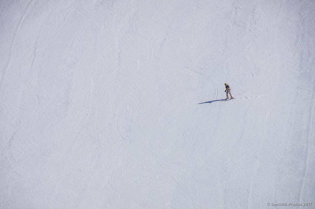 El esquiador