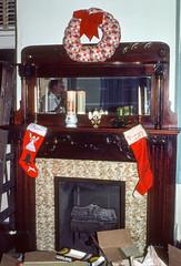 Mantel during decoration party Christmas Charleston SC December 1977.jpg (buddymedbery) Tags: years holidays 1970s charleston unitedstates christmas southcarolina 1977
