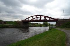 20170422 16 Ruien - Brug over Schelde (Sjaak Kempe) Tags: 2017 lente sjaak kempe sony dschx60v belgië belgique belgium ruien rugge brug over schelde brücke bridge
