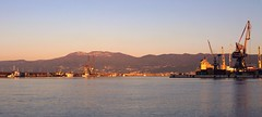 luka_panorama (Rijeka u slikama) Tags: rijeka croatia port morning sea more luka