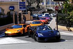 Just Monaco Things (Reece Garside   Photography) Tags: porsche 918 918spyder porsche918 lamborghini aventador aventadorsv mclaren 570s 911 991 gt3 gt3rs turbos car convoy canon canon6d hypercar history rare monaco topmarques 6d supercar summer spotter sun street
