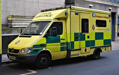 LJ55YGH (Cobalt271) Tags: lj55ygh mercedes sprinter 416 cdi las nhs uvmodular emergency ambulance 7264