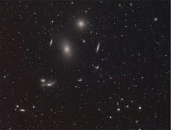 M84 o Cumulo de Galaxias en Virgo (ACHAYA - Astrofotografías) Tags: m84 cumulo galaxias virgo achaya