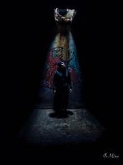 The Division (jbmino) Tags: urnes exploration man light dark