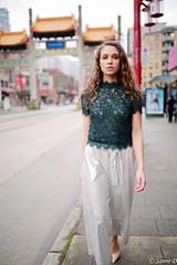 a walk in chinatown (Samir D) Tags: samird 2017 markiii model fashion eos 35mm14 35mm 604 604now vancouver vancity vancitybuzz vans streetphotography street 5d chinatown northamerica bc britishcolumbia
