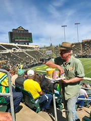 Oregon Ducks Spring Football game. Eugene April 2017 (Explore) (drburtoni) Tags: