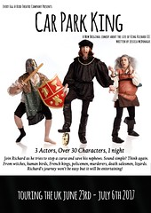 Car Park King @EveryEggABirdTC Richard III wakes in a car park to stop a curse & protect his two nephews 5-6July @53two #comedy @TicketWebUK (Greater Manchester Fringe) Tags: carparkking everyeggabirdtheatre 53two richardiii montypython blackadder spikemilligan witches humanbirds flamboyant frenchkings nononsensepolicemen murderers salesmen lizards 35characters threeactors theatre comedy historical newwriting play controversial manchester greatermanchesterfringe gmfringe england uk britain stage performance events entertainment what'son actors drama july 2017 lancashire festival variety