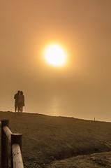 Waiting for the sunset 782 (_Rjc9666_) Tags: algarve coastline colors landscape nikkor35mm18 nikond5100 portugal praia sea seascape sky â©ruijorge9666 sunset praiadacordoama 1764 782