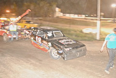 On the hook (Joe Grabianowski) Tags: street ny cars stock racing dirt modified oval ransomville dirtcar