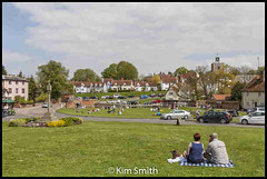 Finchingfield Essex (smiffy1957) Tags: green windmill out pond day village essex campervan finchingfield