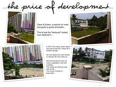 price of development (Jennifer Kumar) Tags: kochi 2013 kakkanad