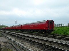 Royal Mail set at Quorn & Woodhouse, 18th May 2013. (Dave Wragg) Tags: railway royalmail preserved gcr quornwoodhouse travellingmail