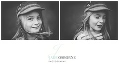 ([ J a d e ]) Tags: blackandwhite film monochrome 50mm bokeh f18 childportrait canon5dmkii