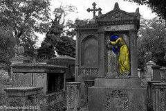 Lost Without You (Twistedreload) Tags: cemeteries art cemetery victorian angels