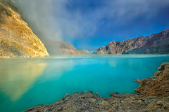 Ijen Crater (Abdul Azis (ais)) Tags: mountain indonesia crater sulfur eastjava ijen bondowoso