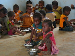 feasting (theancientpath) Tags: poverty school village hunger madagascar cyclone nutrition malnourishment mikea