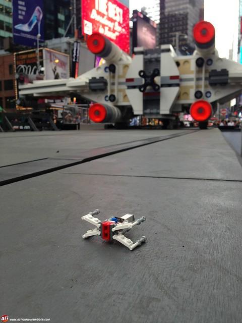 LEGO 史上最巨大作品!超屌的 1:1 星際大戰 X-戰機
