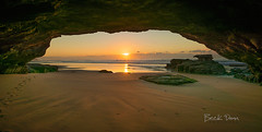 Caves Beach, Australia (Beck Dunn Photography) Tags: ocean beach sunrise moss australia coastal nsw cave centralcoast cavesbeach