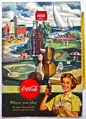 1950s Vintage Coca Cola Advertisement From National Geographic Back Page 43 (Christian Montone) Tags: vintage ads advertising coke americana soda cocacola advertisements sodapop vintageads vintageadvert