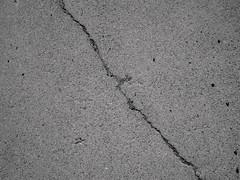 Crack (nag #) Tags: life shadow texture field log snapshot snap surface daily material