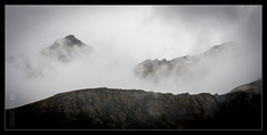 Mountain Mist (ice-cold photography) Tags: sumar sk himinn borgarnes fjall ferir