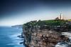 Watsons Bay (Kash Khastoui) Tags: sunset sky cliff lighthouse bay sydney australia macquarie watsons kash khashayar khastoui