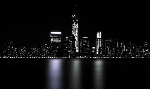 One World trade center & Financial district from Jersey city