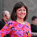 Jo Hartley on the red carpet for the European premiere of Breathe In