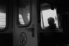 Back From Foula (Wrinzo) Tags: summer fog island scotland boat barca nebbia foula scozia shtland isoleshetland