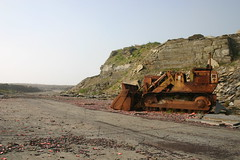 Cruaday Quarry (Owen H R) Tags: orkney caterpillar 941b cruadayquarry owenhr