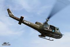 "Wings and Rotors Air Museum's UH-1B Huey ""Seawolf"" N832M (PhantomPhan1974 Photography) Tags: bell huey seawolves uh1 uh1b lakeviewterrace hal3 americanheroesairshow"