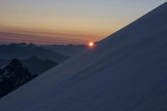 Sunrise on Morgenhorn (sylweczka) Tags: snow mountains alps switzerland climb glacier kandersteg hochtour sylweczka morgenhorn