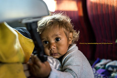 Curiosity    (francisling) Tags: boy cute zeiss train 35mm children t sony australia cybershot stare aborigine interstate curious northern territory ghan sonnar       rx1   dscrx1